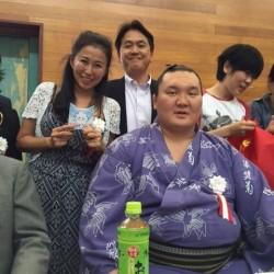 茨城県 モンゴル相撲イベント