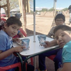 チリ アタカマ砂漠の子供達