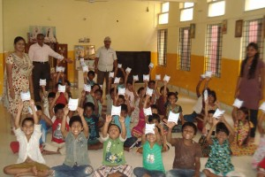 インド・Anatha Sishu Sevashrama孤児院