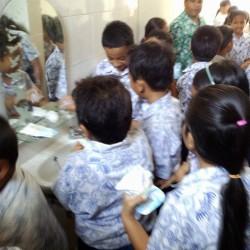 バリ島の子供達