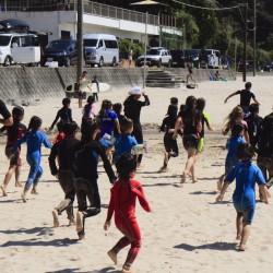 子どもたちのためのサーフィン・レクリエーション