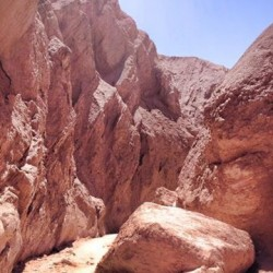 南米チリ_アタカマ砂漠