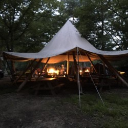 Nicotan Camp in ライジングフィールド軽井沢