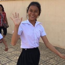 カンボジア(王宮見学)