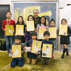 nicotan♡college『鶴を描こう』